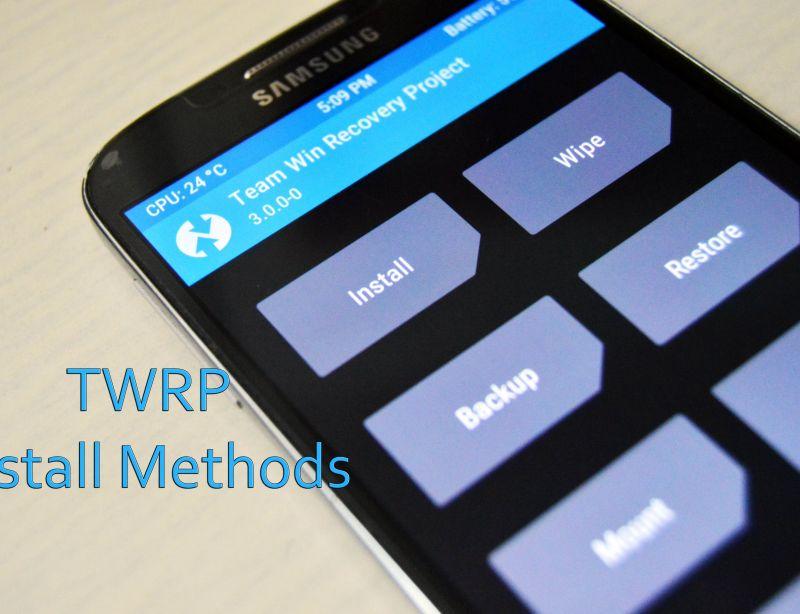 Как да си инсталира TWRP?